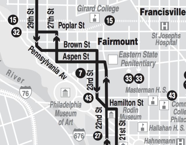 Route 48 through Fairmount