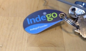 Indego Founder keyfob.  That's right.